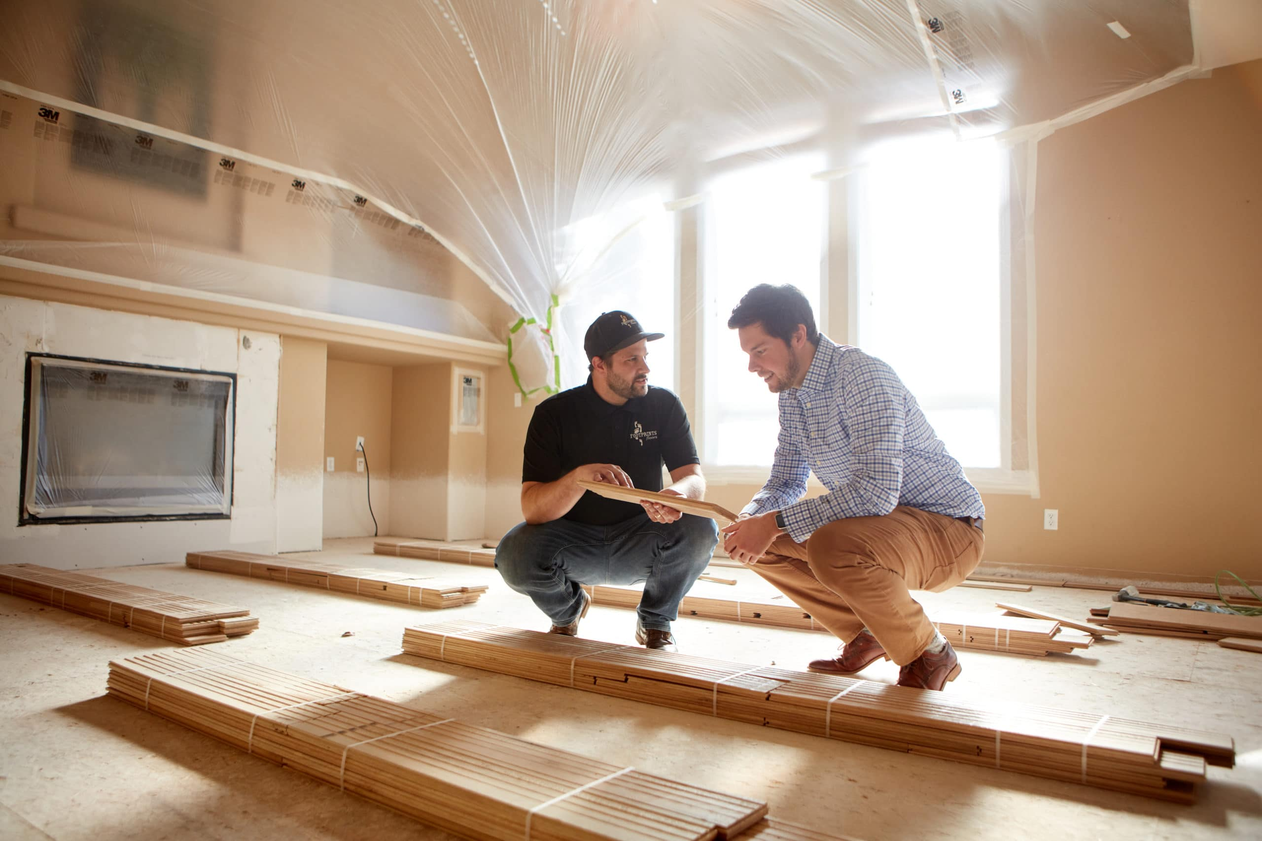 Starting a flooring business with Footprints Floors