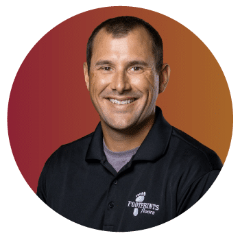 Footprints floors franchise development manager, Brian Knuth, image.
