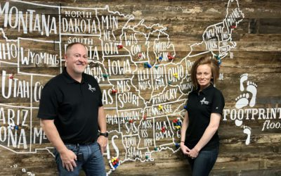 How This Franchise Consultant Couple Discovered Footprints Floors