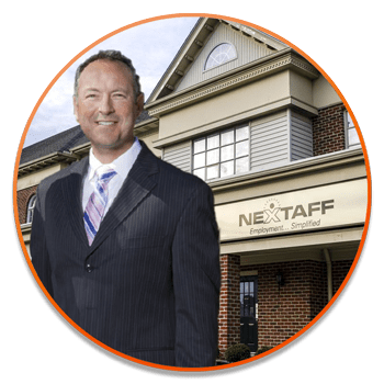 NEXTAFF staffing agency franchise Owner, Cary.