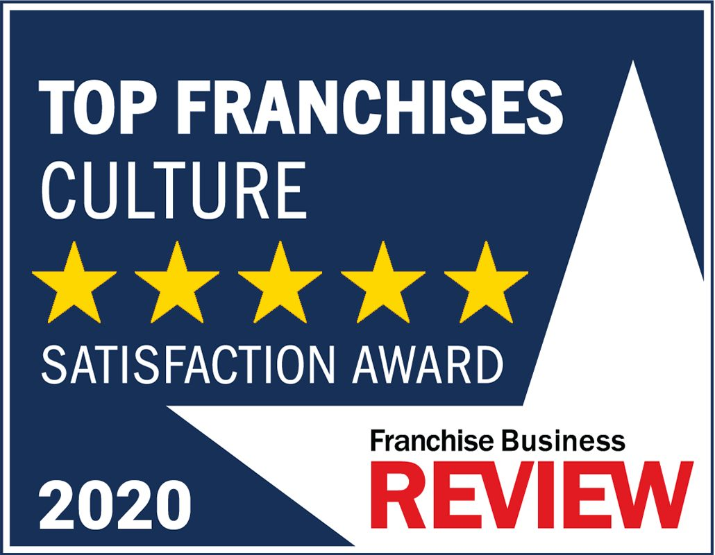 FBR Top Culture Franchise 2020  badge awarded to NEXTAFF Recruitment Franchise.